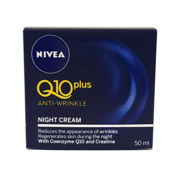 Buy Nivea Vis Q10 A/Wrinkle Nite Crm 50M Singapore