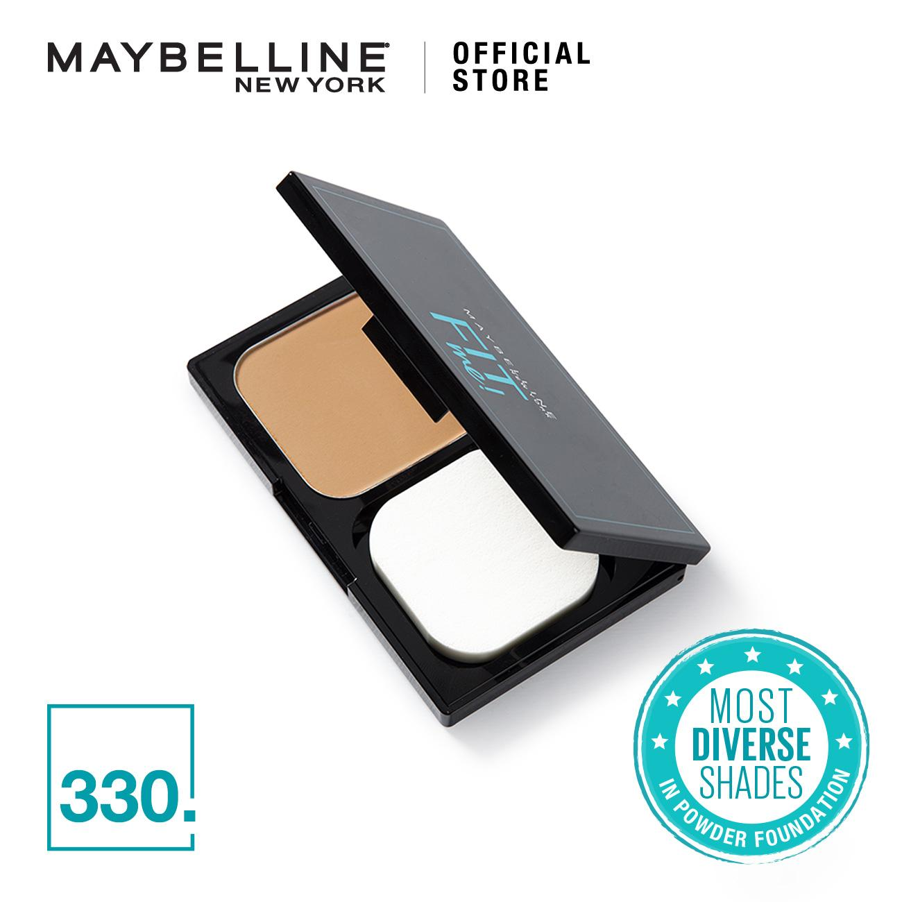Maybelline Fit Me Skin-Fit Powder Foundation By Maybelline