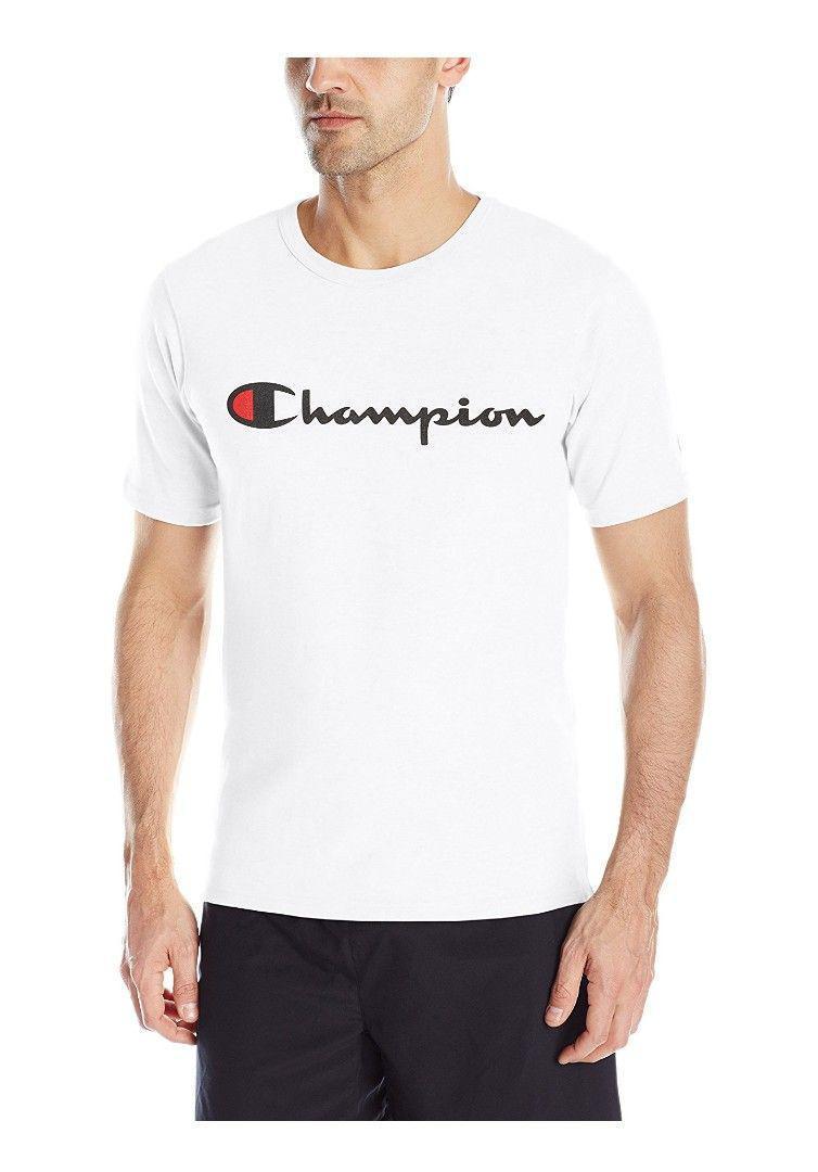 Buying Authentic Champion Script T Shirt