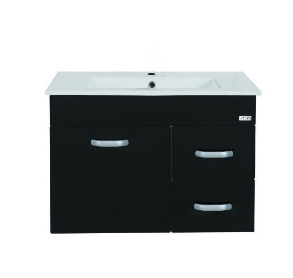Rubine 70cm Stainless Steel Bathroom Cabinet (RBF-1274D3-BK/WH)