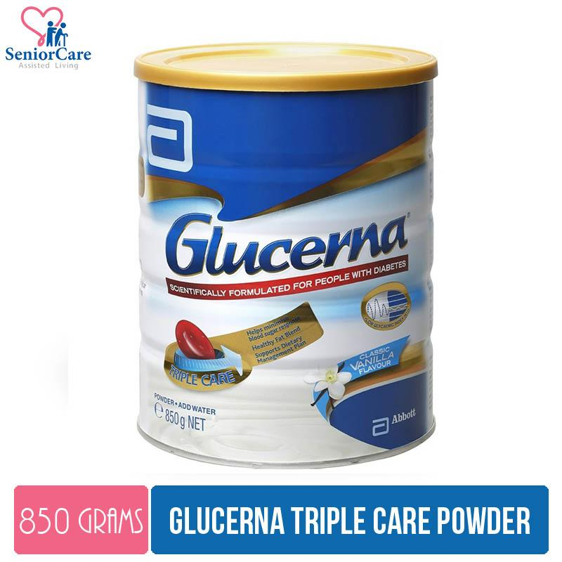 Abbott Glucerna Triple Care Powder – 850g By Cantley Lifecare.