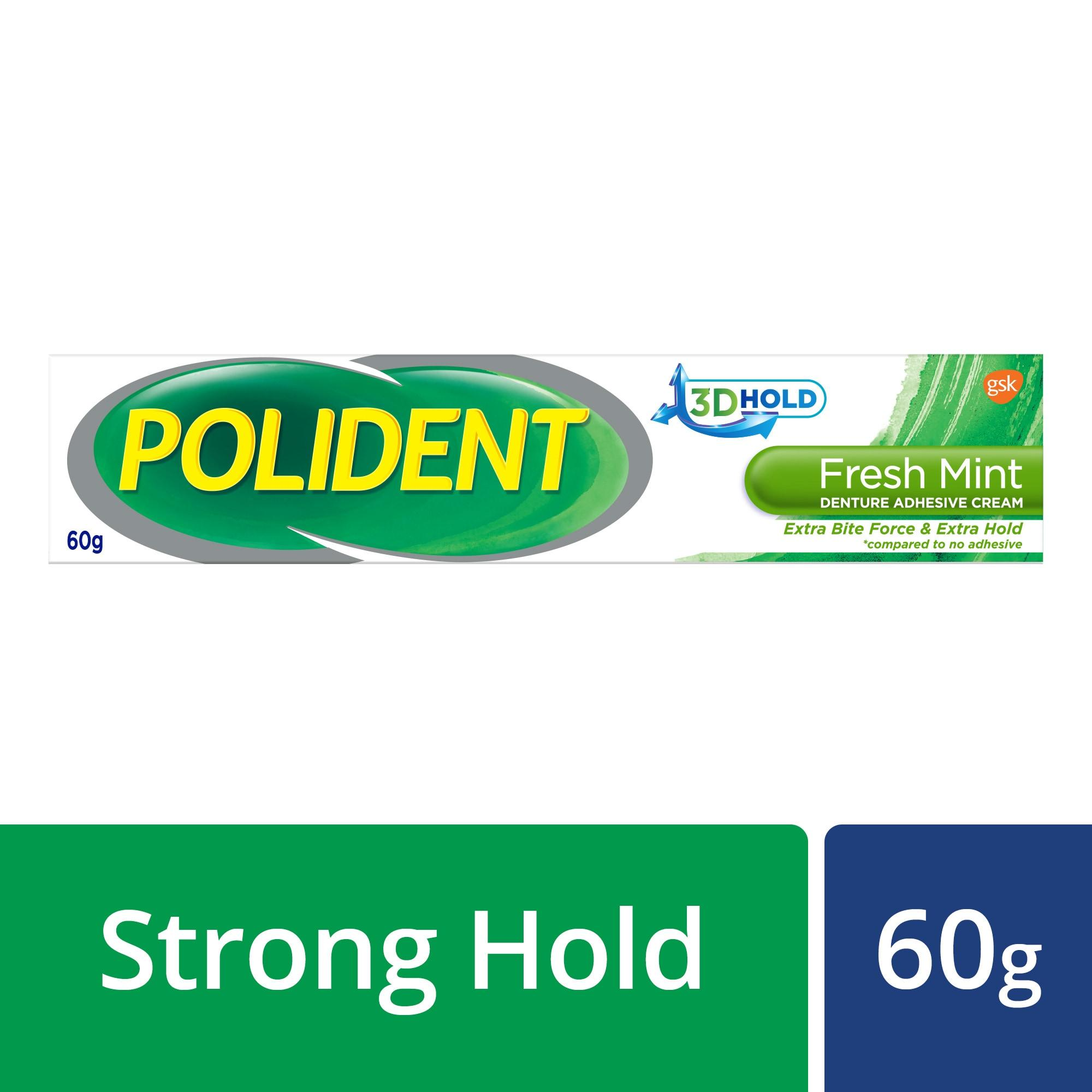 Polident Adhesive Crm 60g By Gsk Official Store..