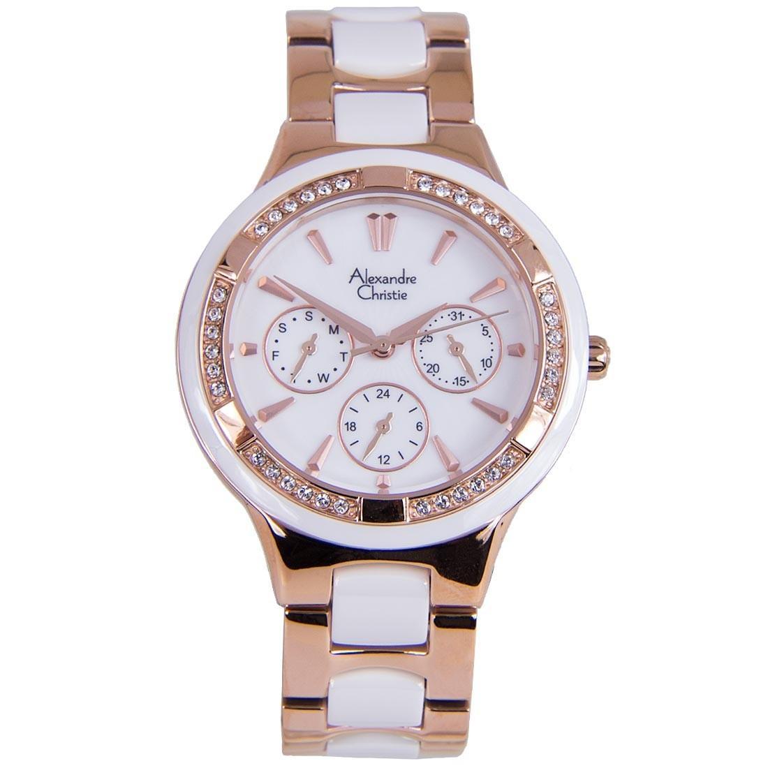 Latest Alexandre Christie Watches Products Enjoy Huge Discounts Ac 6410 Black Strap Men Original 2299bfbrgsl Quartz Two Tone Ladies Watch