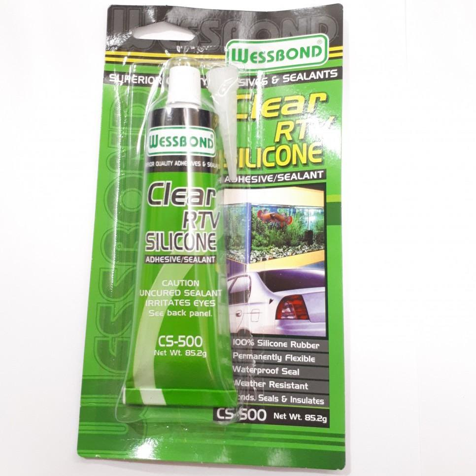 Wessbond Clear RTV Silicone 85.2g