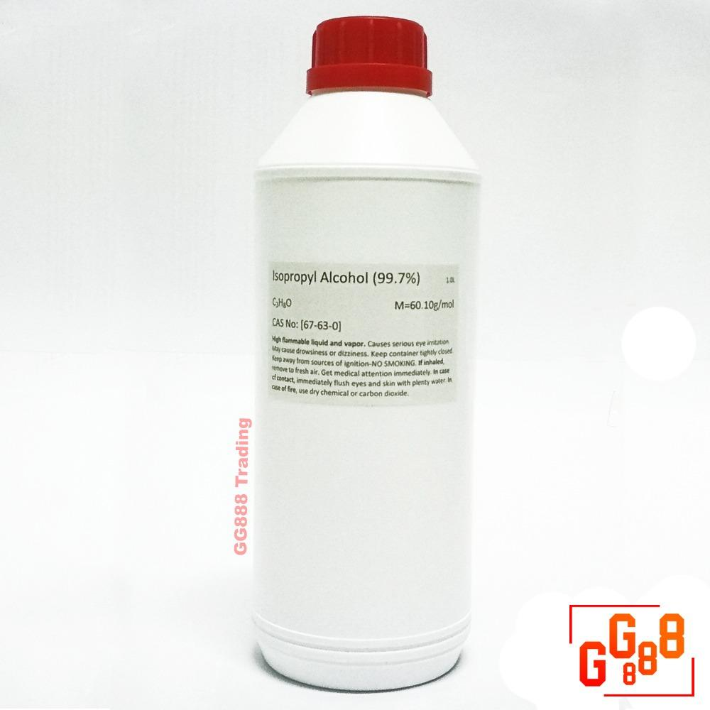 Pc & Electronic Parts Cleaner (isopropyl Alcohol 99.7%) 1l By Gg888.