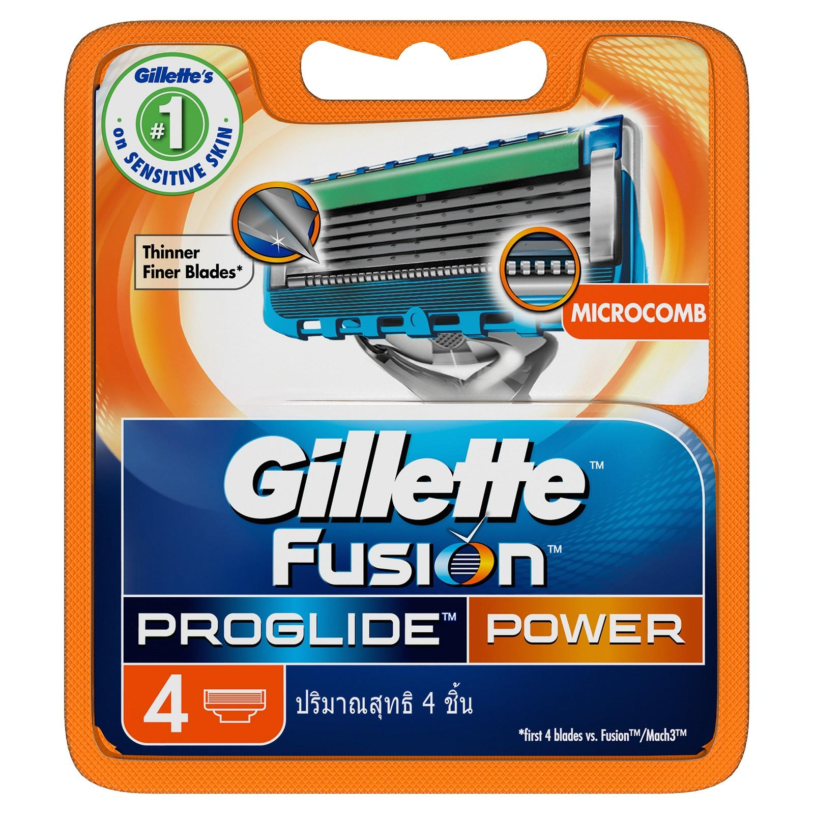 Fusion Proglide Power 4s [single] By P&g Official.