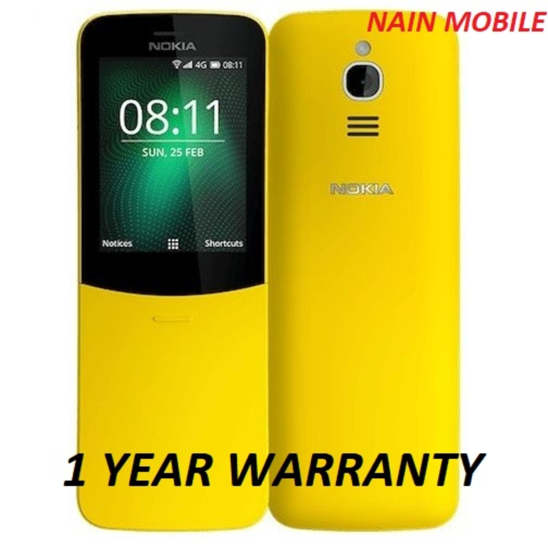 Latest Nokia Mobiles Products Enjoy Huge Discounts Lazada Sg Xl Yellow 8110 4g