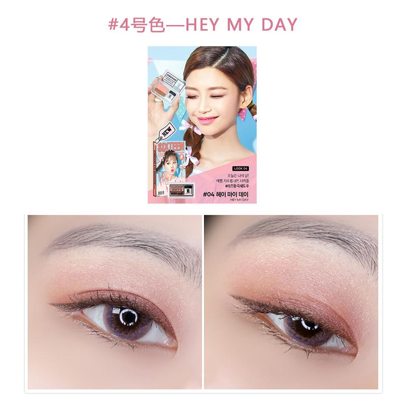 Latest 16brand Eye Shadows Products Enjoy Huge Discounts Lazada Sg