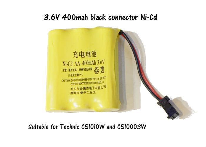 Best Deal Ni Cd 3 6V 400Mah Black Connector