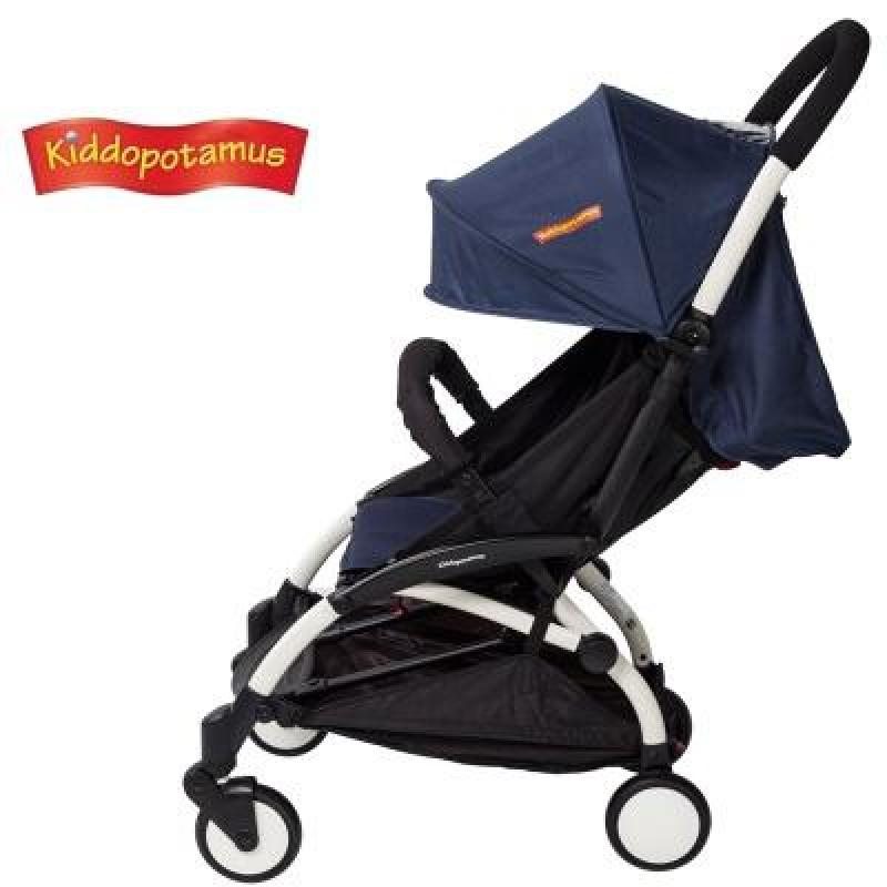 Most Popular Cabin size Ultra Lightweight baby stroller - Navy Blue Color Singapore