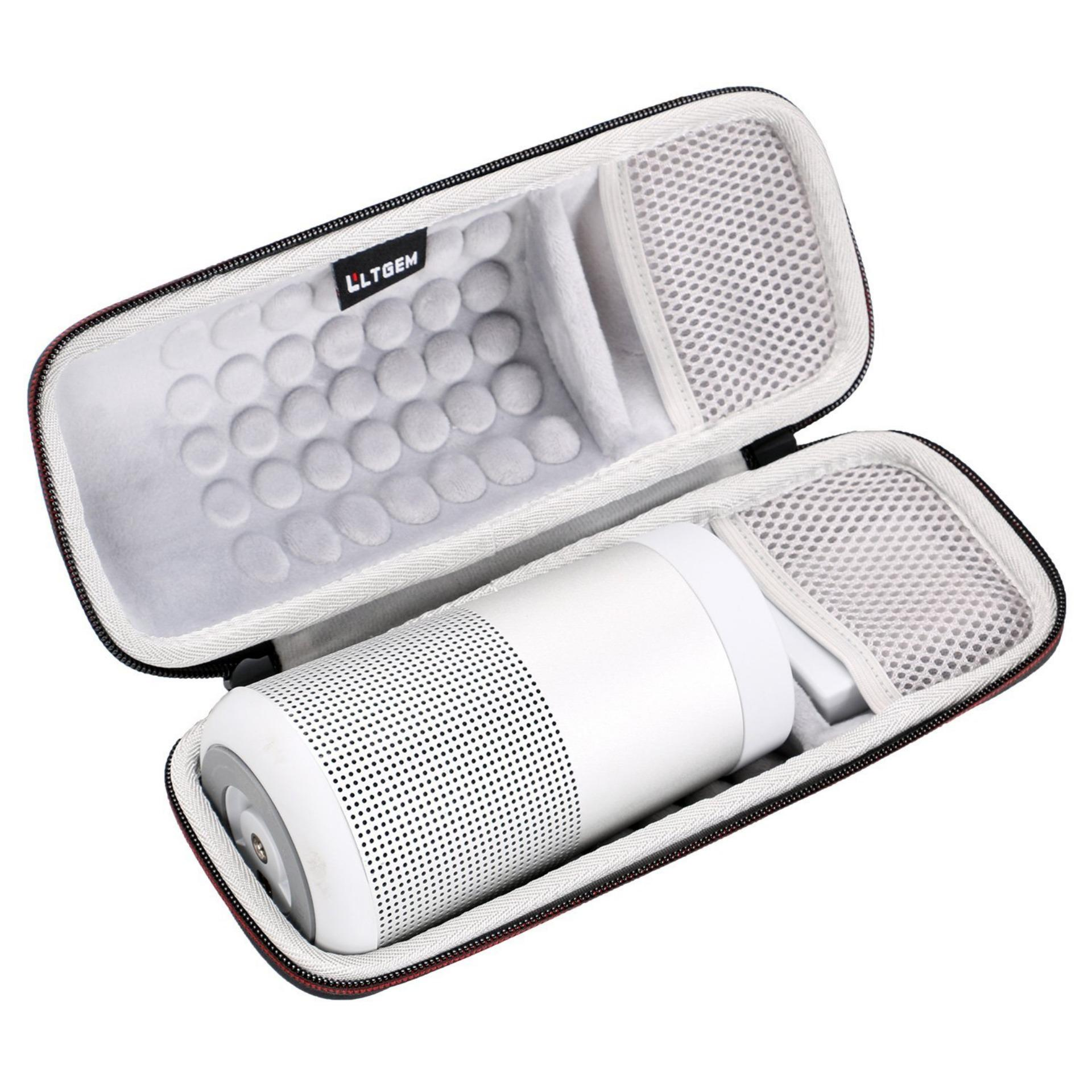 The Cheapest Ltgem Portable Hard Eva Case Protective Storage Carrying Bag Case For Revolve Bluetooth Speaker With Mesh Pocket Intl Online
