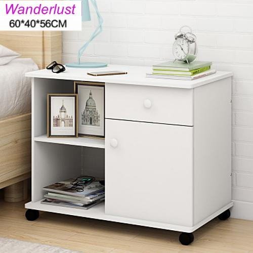 Multi-function File and Bedside Cabinet with Locks for home bedroom and study storage organizer