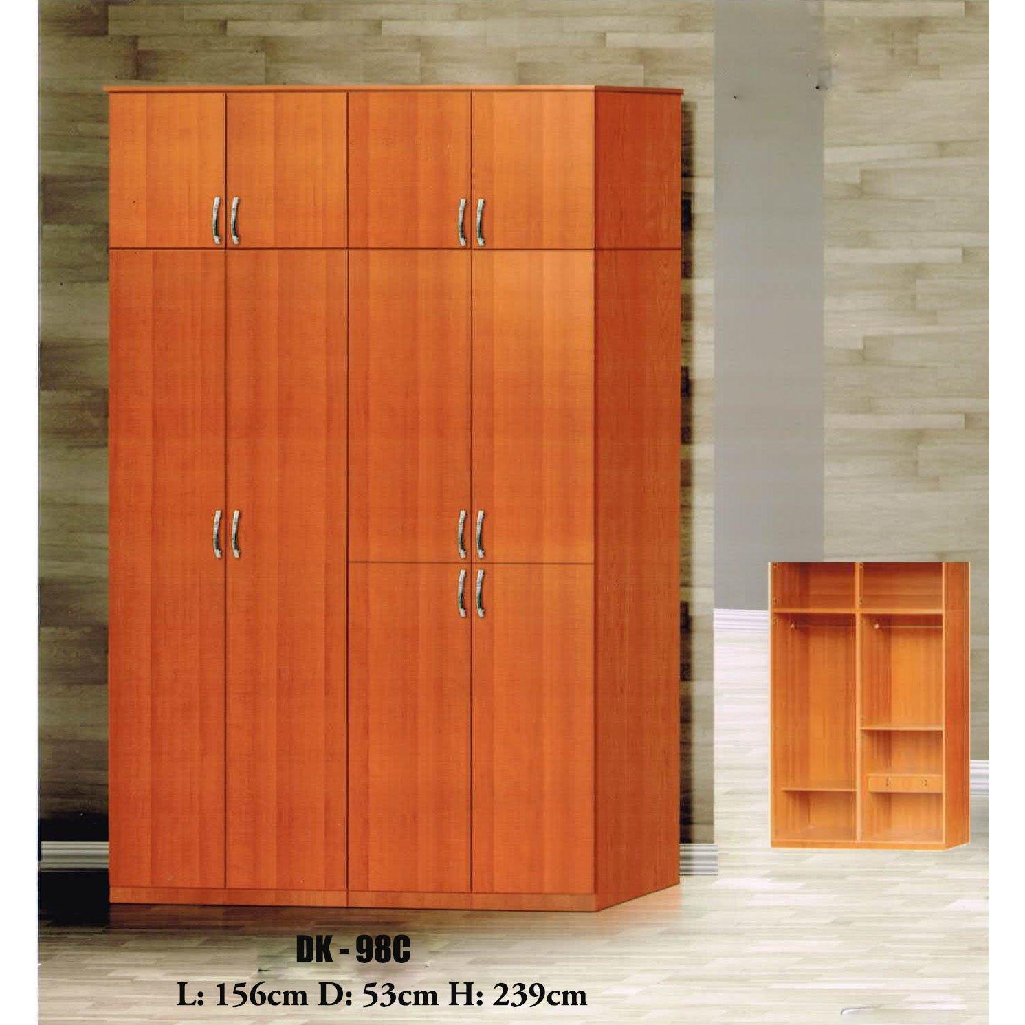 Sale Dk98 Cherry Open Door Wardrobe