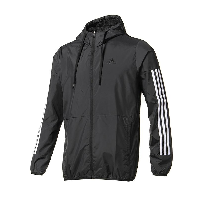 004a9ddc87a4 Adidas Men s Wear 2018 New Style Men s Sports Leisure Windproof Jacket  DU5183