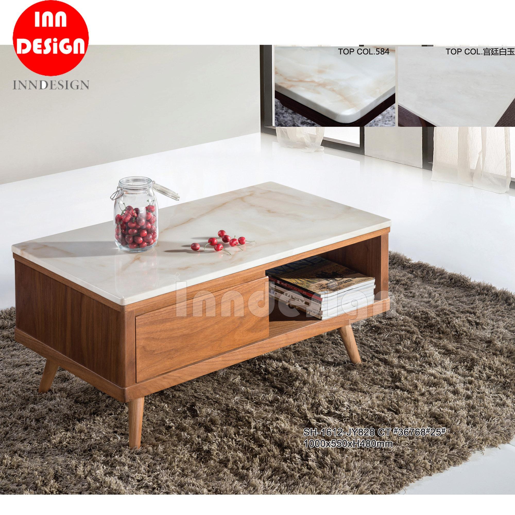 Venery Marble Top Coffee Table