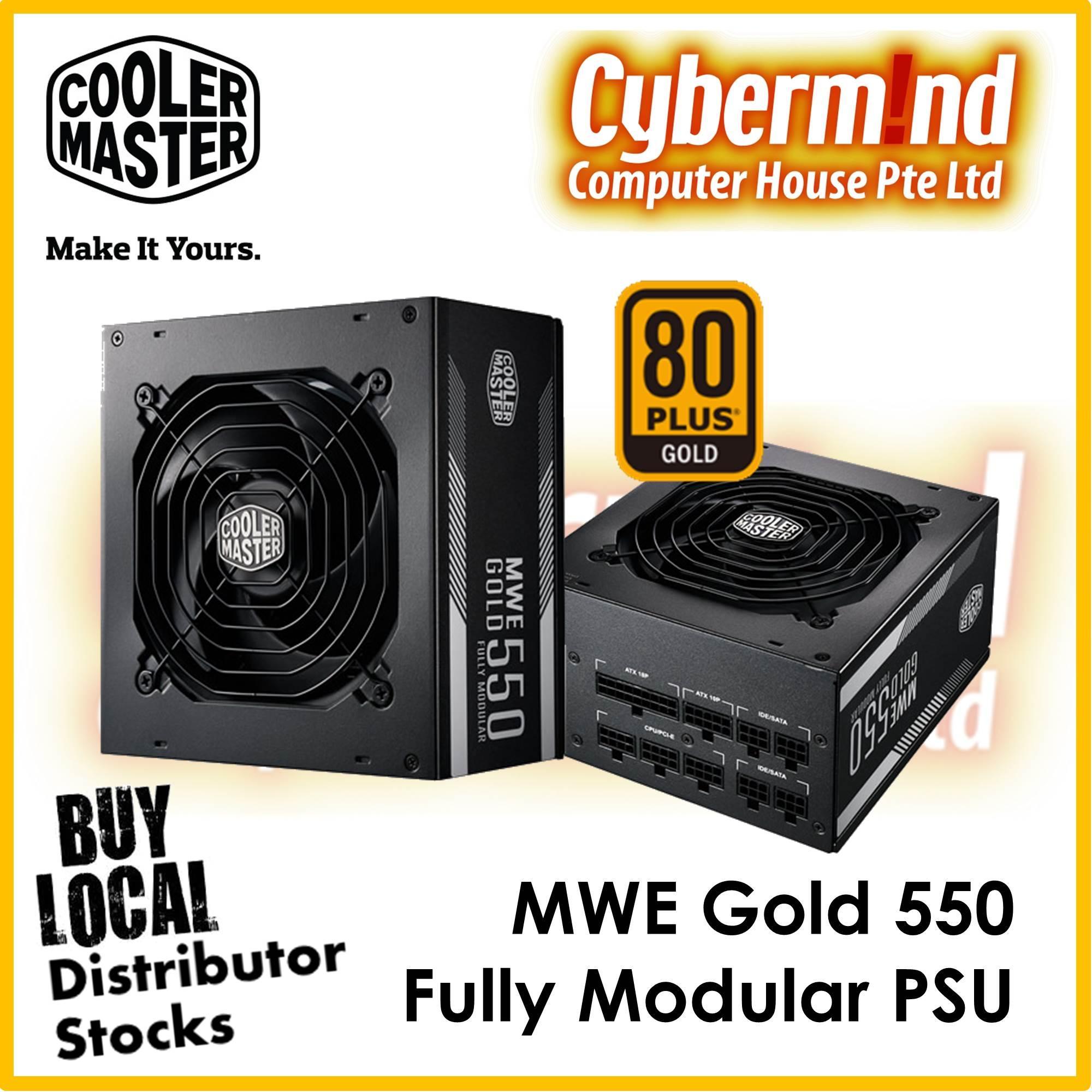 Buy Power Supply Units Pc Lazada Corsair Vs550 Vs 550 Cooler Master Coolermaster Mwe Gold Fully Modular 80 Brought