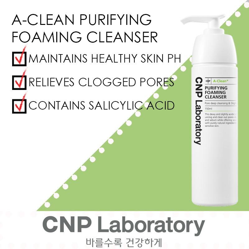 Sale Cnp Laboratory A Clean Purifying Foaming Cleanser 150Ml Cnp Laboratory Wholesaler
