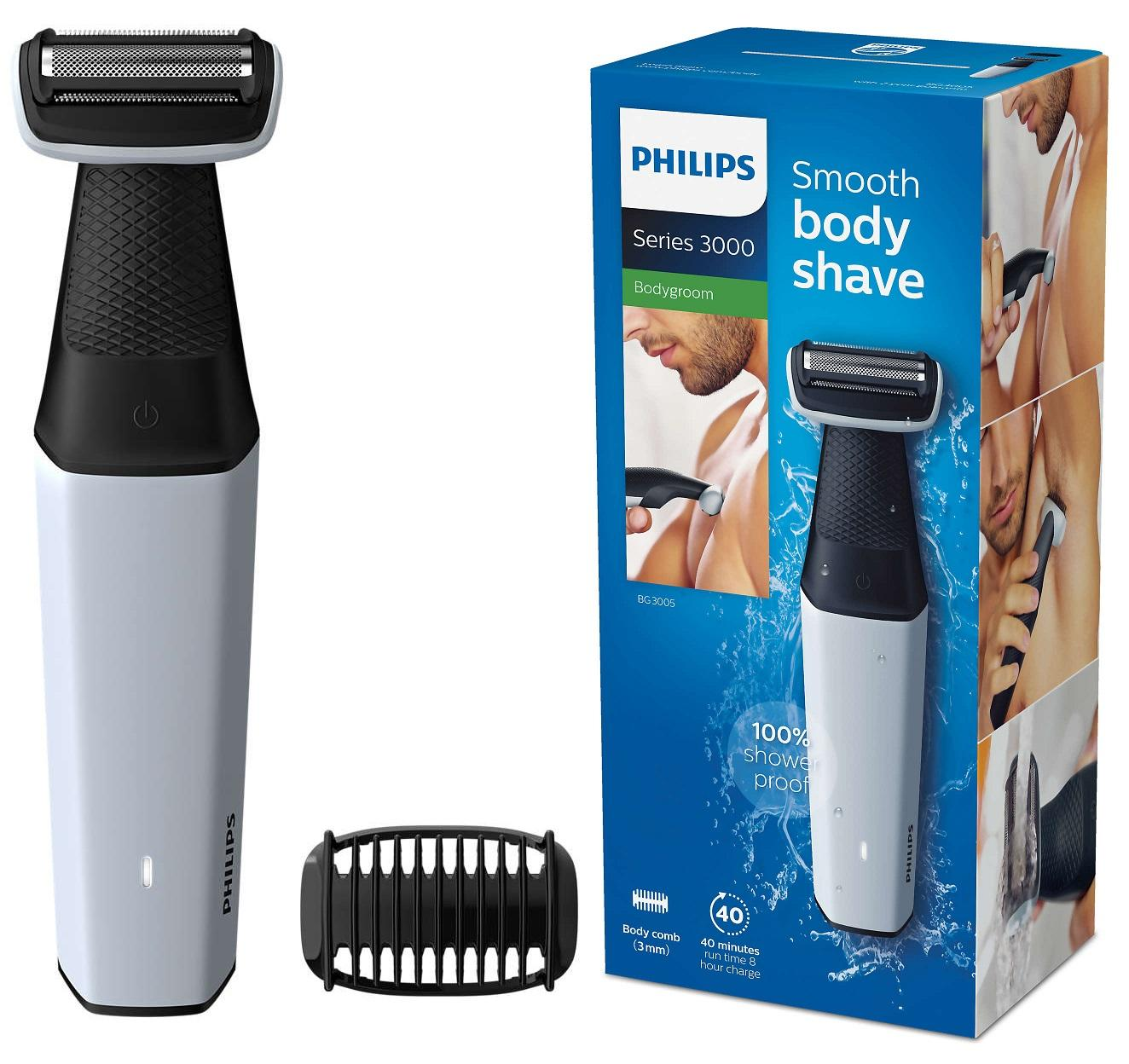 Philips Bg3005 Bodygroom Series 3000 Smooth Body Shave Price Comparison