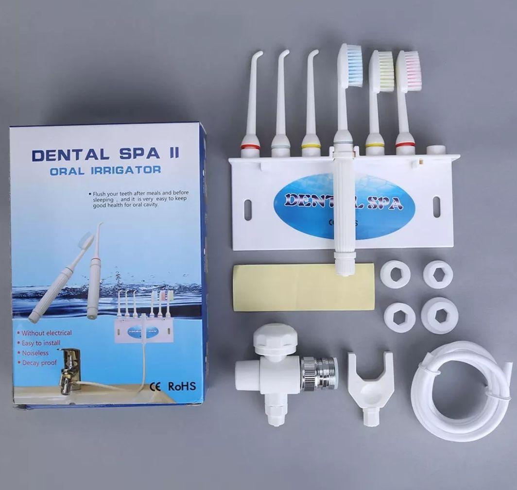 2 in 1 Family Water Flosser & Toothbrush Set