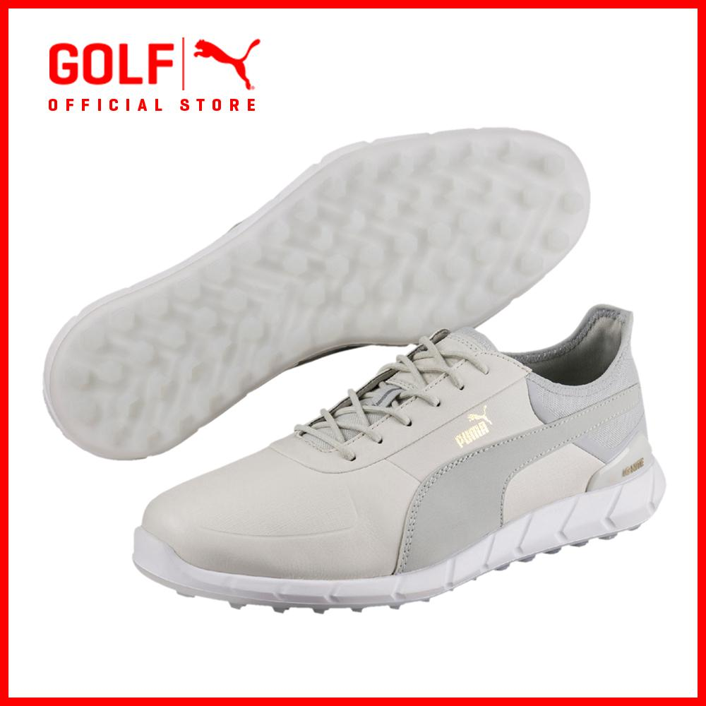 Puma Golf Men Ignite Spikeless Lux Footwear Footwear - Vaporous Gray-Gray Violet By Puma Golf Official Store.