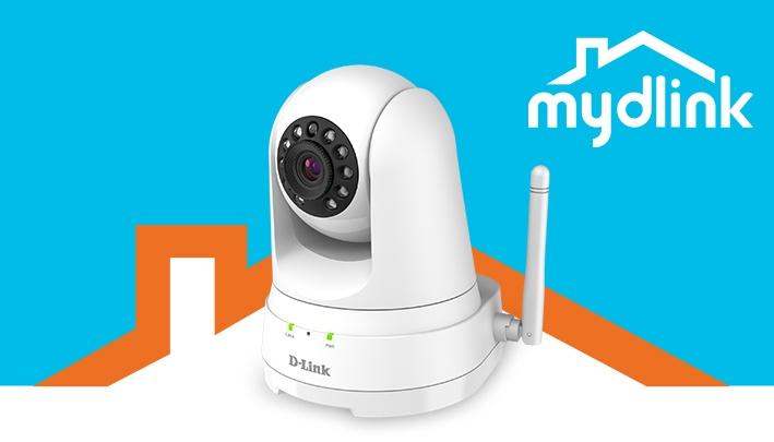 a93272eae D-Link DCS-8525LH Full HD Pan   Tilt Wi-Fi Camera