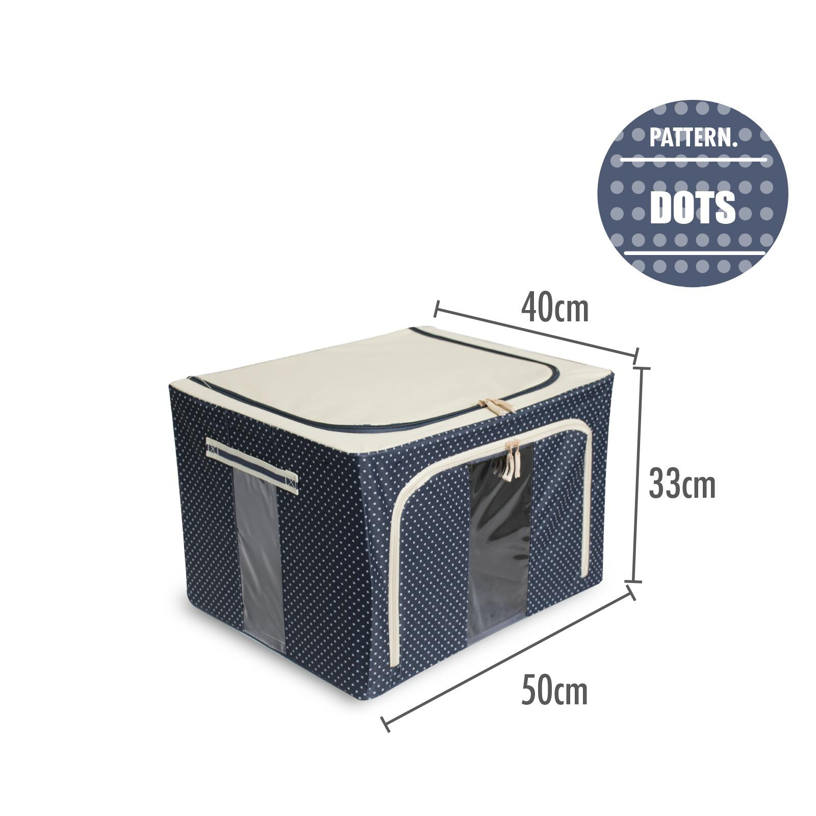 Sale Houze Foldable Storage Box With Dots Houze Cheap