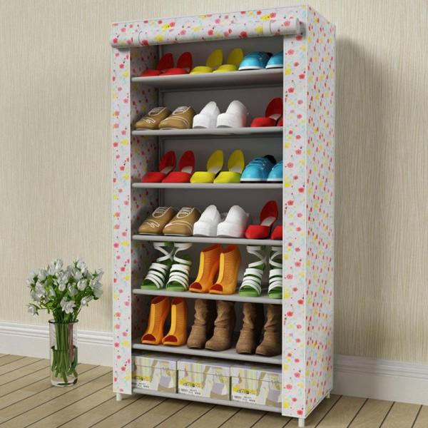 Fashionable Household Simple Shoe Rack