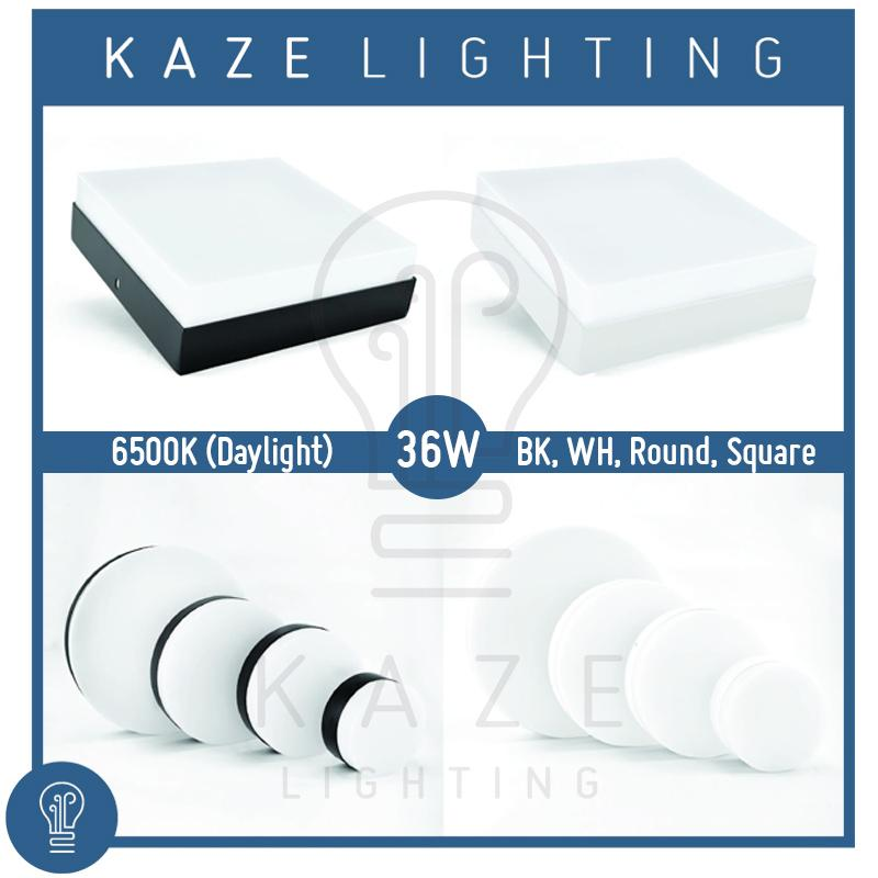 LED Ceiling Light 36w Surface Mount Panel Acrylic