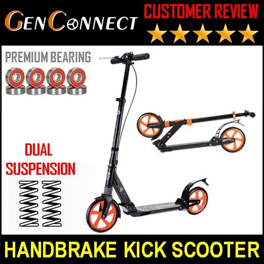 Kick Scooter Dual Suspension Abec 11 Ball Bearings Town Rider! / Scooter By Genconnect.