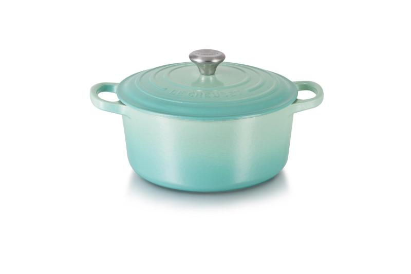 Le Creuset Cast Iron Round French Oven 16cm, Classic (Cool Mint) - Online Exclusive Singapore