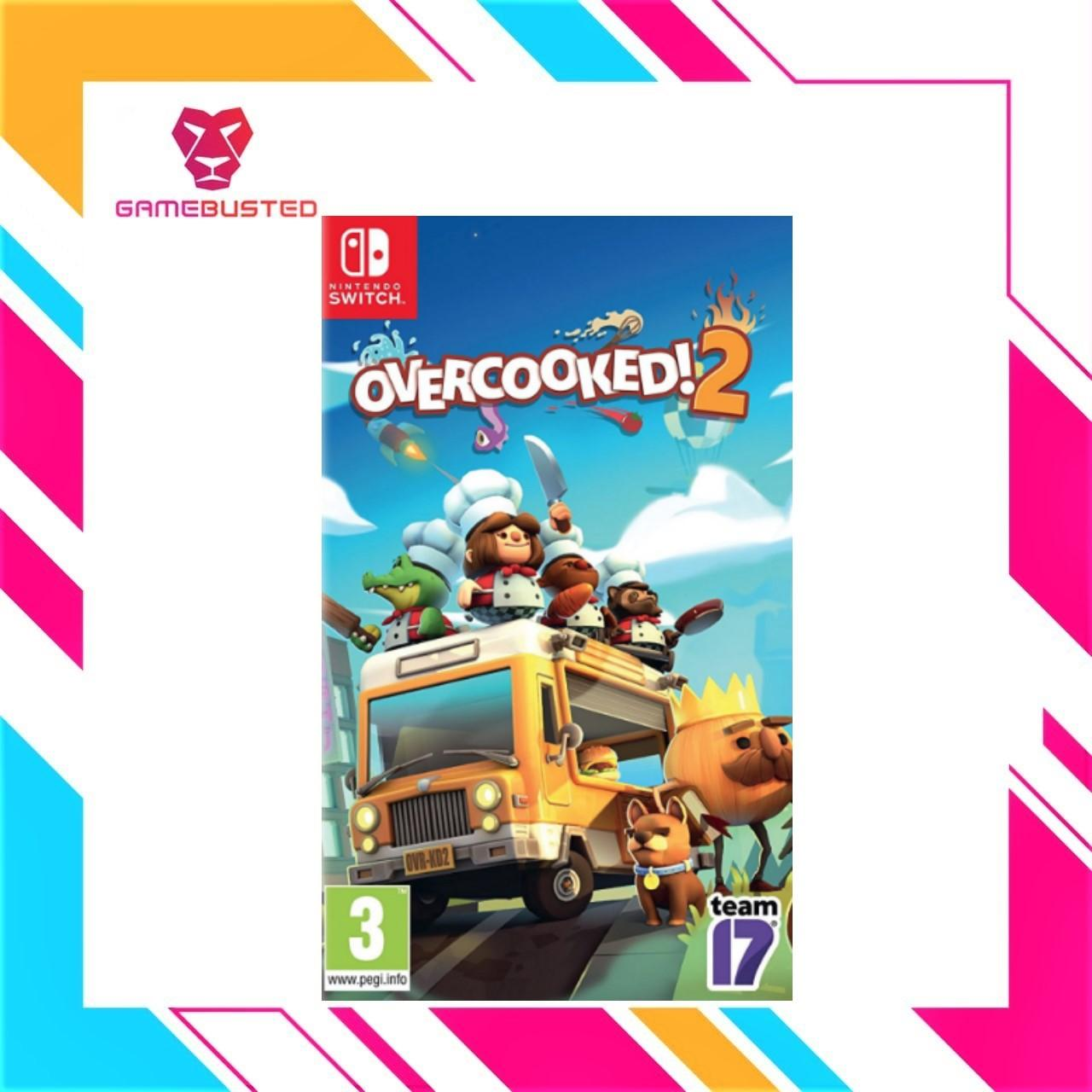 Nintendo Switch Overcooked 2 By Game Busted.
