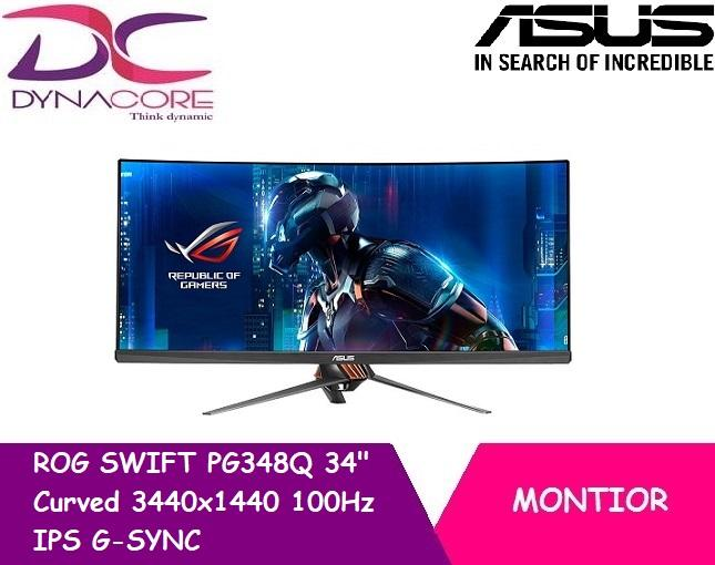 [ASUS] ROG SWIFT PG348Q 34 Curved 3440x1440 100Hz IPS G-SYNC Gaming Monitor