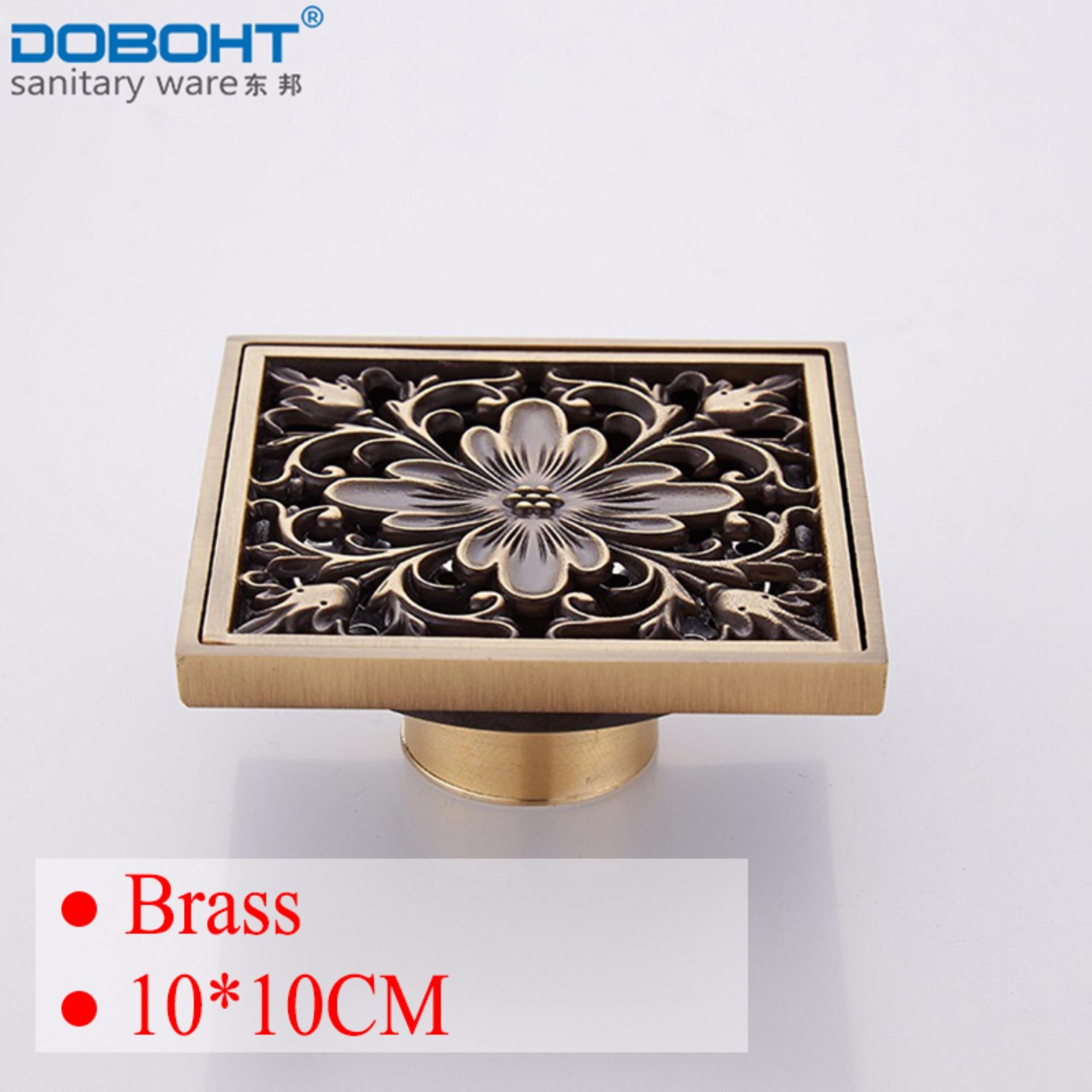 Doboht Brass Bathroom 10Cm 10Cm Floor Drain Antique Intl On China