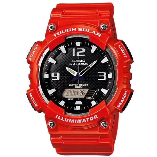 Best Price Casio Men S Red Resin Strap Watch Aq S810Wc 4A