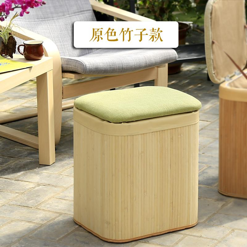New Products Promotion Storage Stool Can Sit Solid Wood Adult Household Multi-functional Rectangular Foot Bench Sofa