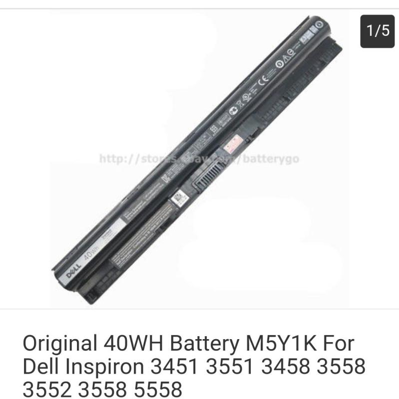 Original 40WH Battery M5Y1K For Dell Inspiron 3451 3551 3458 3558 3552 3558 5558