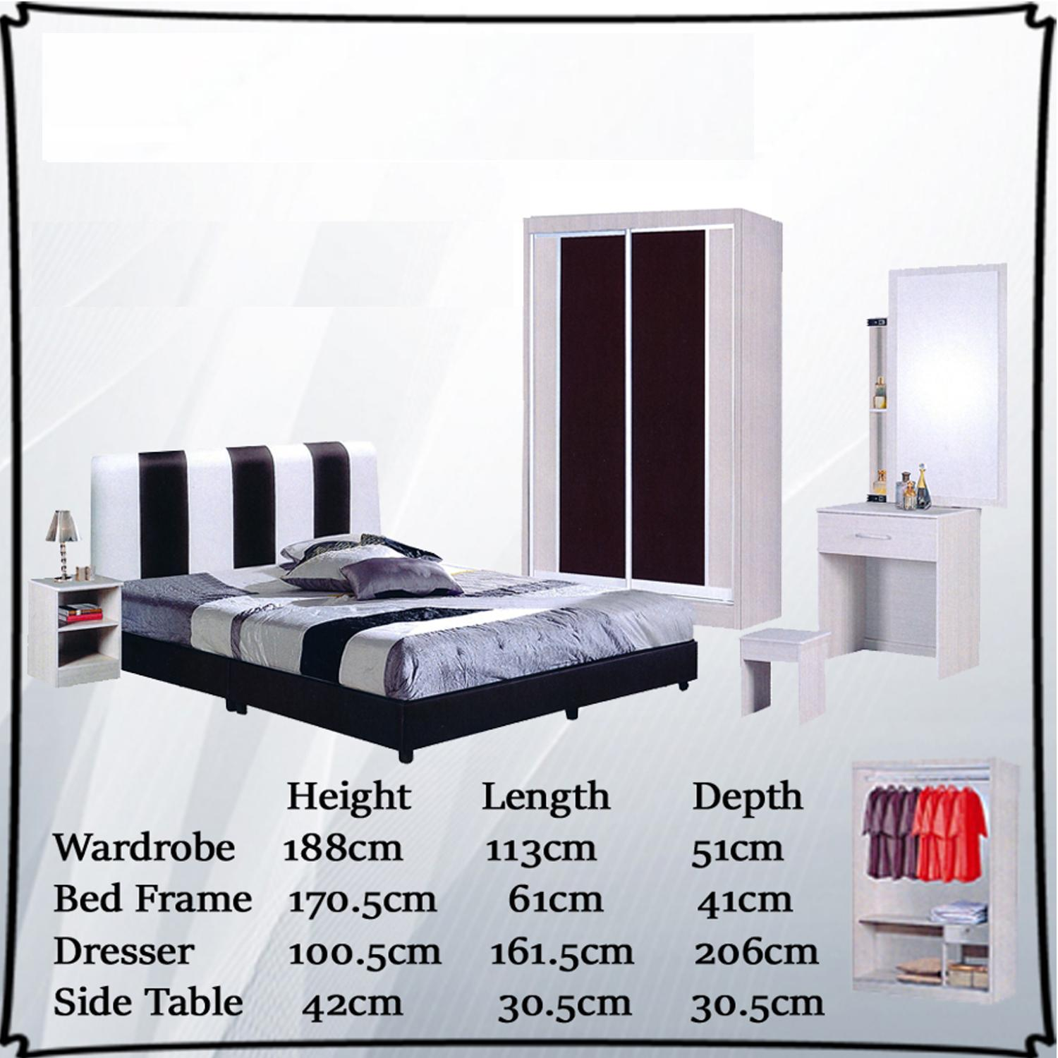 Monna Bedroom Set