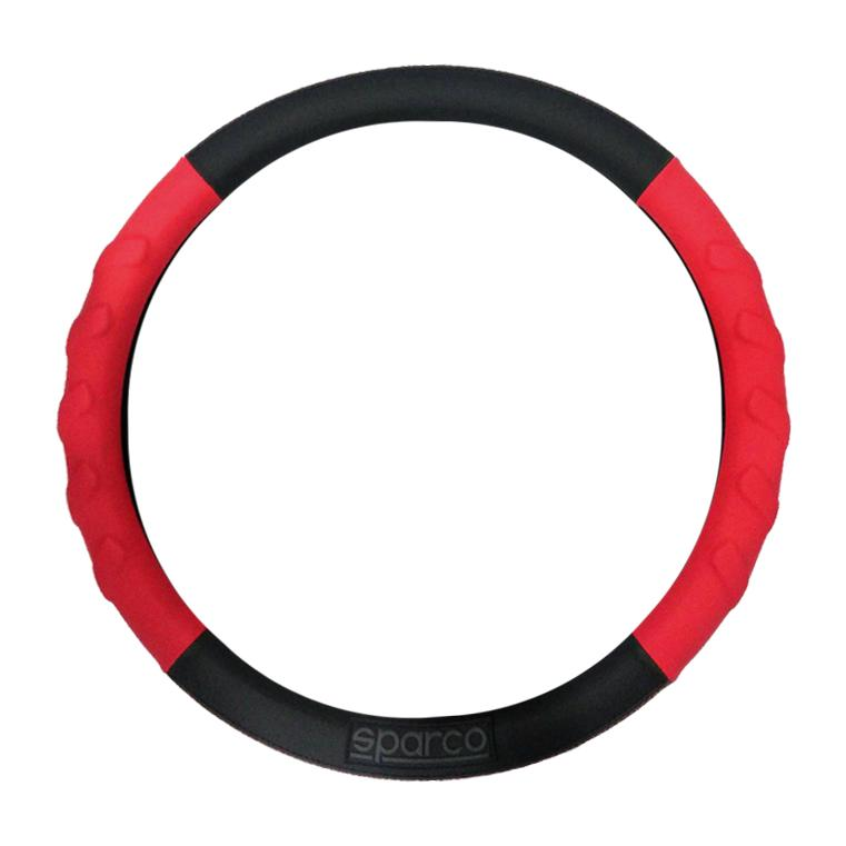 Where To Shop For Sparco Spc1117Rds Steering Wheel Cover Red Black