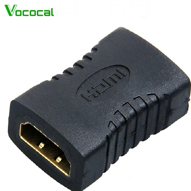 Vococal HDMI Female to Female Adapter Connector Converter