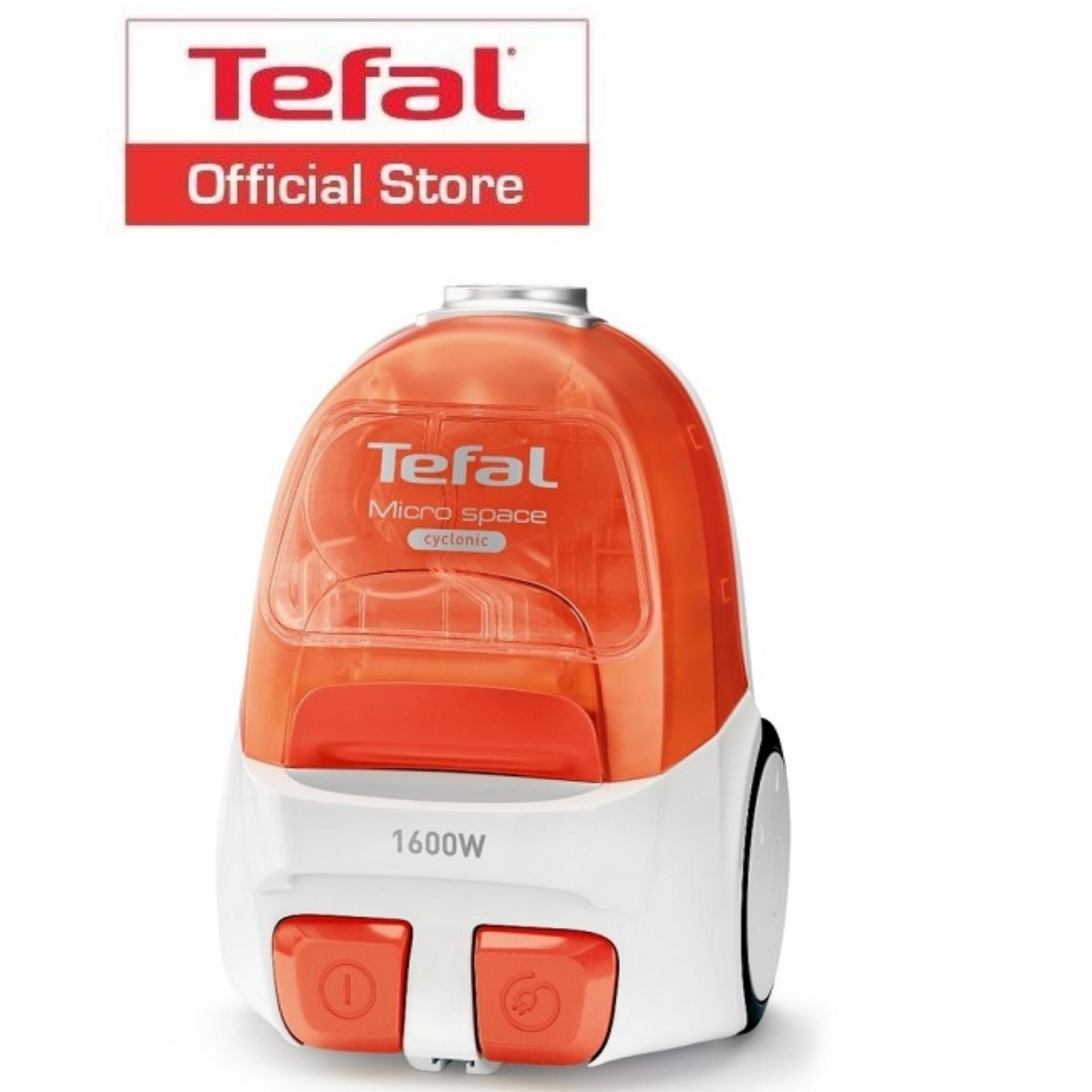 Compare Tefal Micro Space Cyclonic Bagless Vacuum Cleaner Tw3233