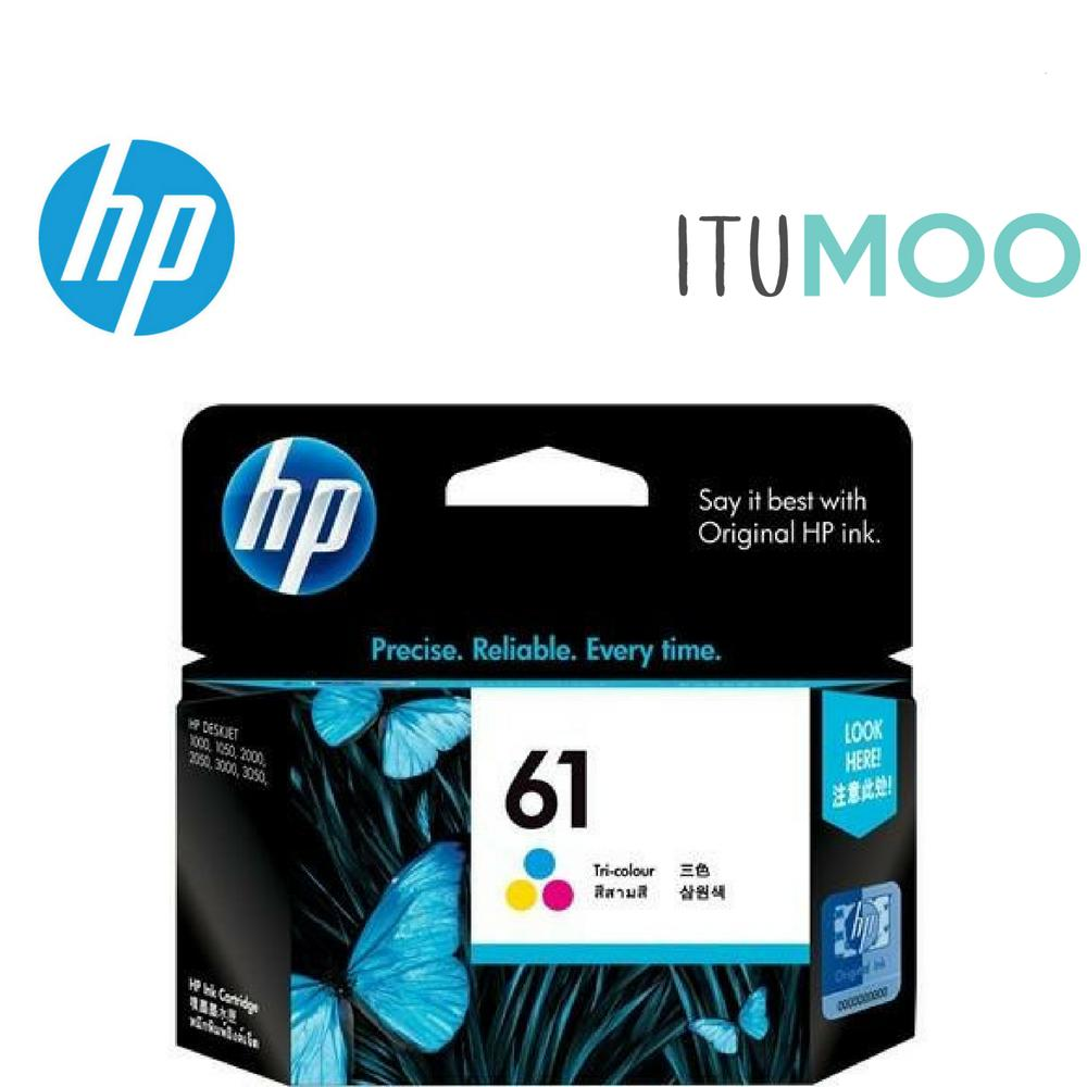 Value Pack Original Hp 61 Ink Cartridge For Hp Dj 1000 2000 3000 Printer Black And Color Singapore