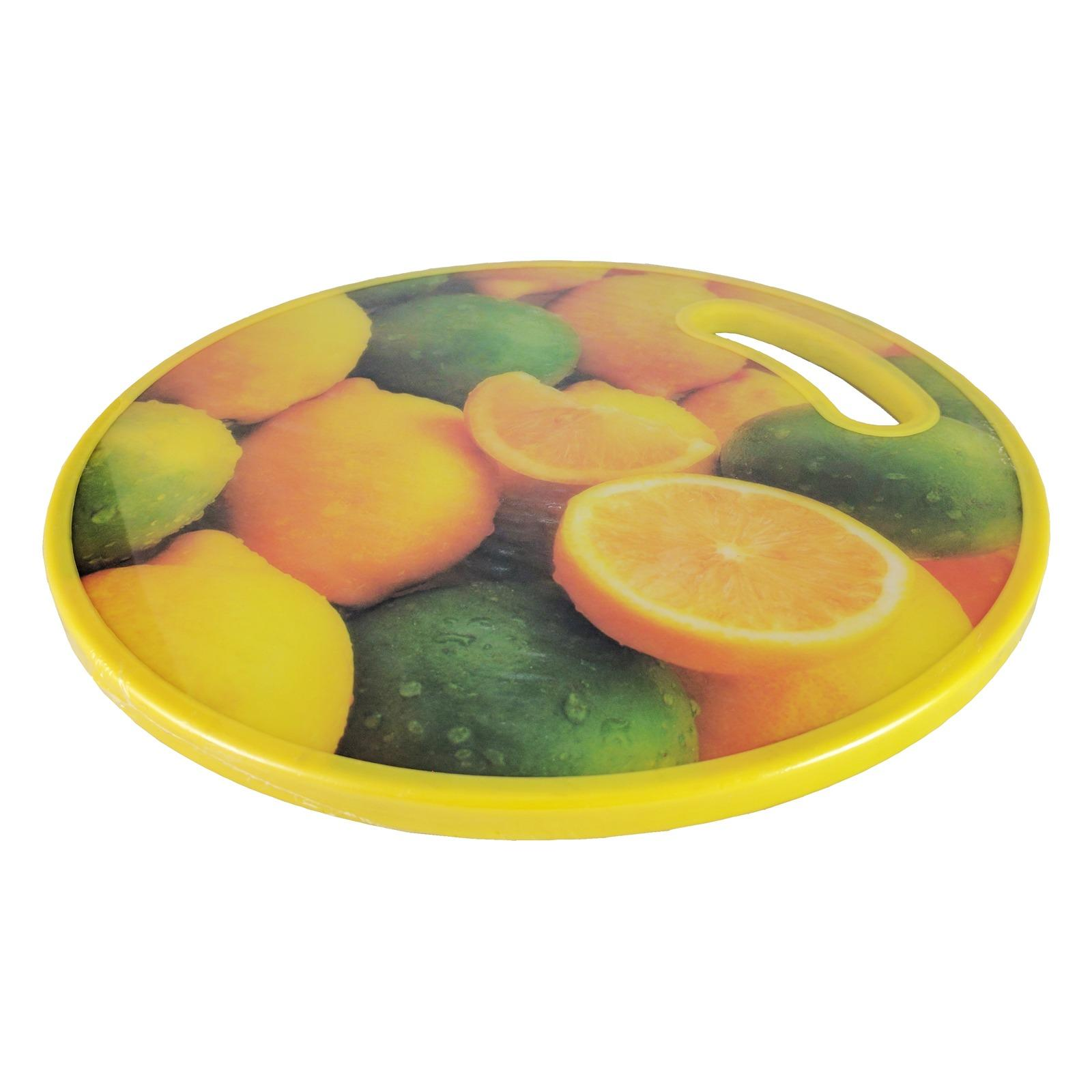 Shop For Round Plastic Chopping Board 30Cm