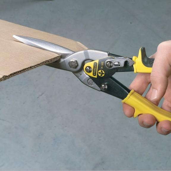 Stanley 14-563 Snips Straight Cut 10 Inch By Selffix Diy.