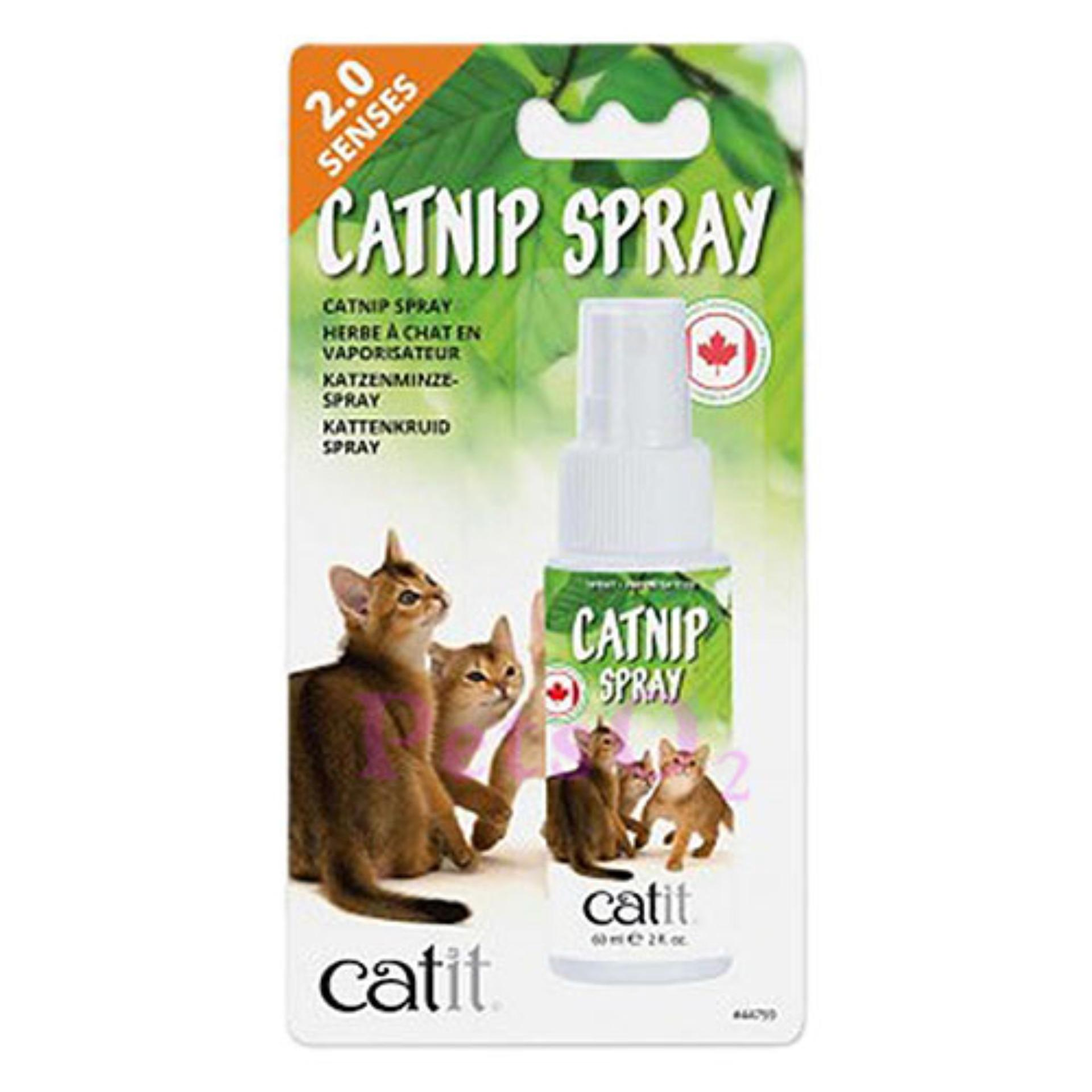 Catit Senses 2.0 Catnip Spray 60ml By Petso2.