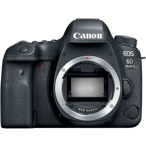 Compare Canon Eos 6D Mark Ii Dslr Camera Body Only