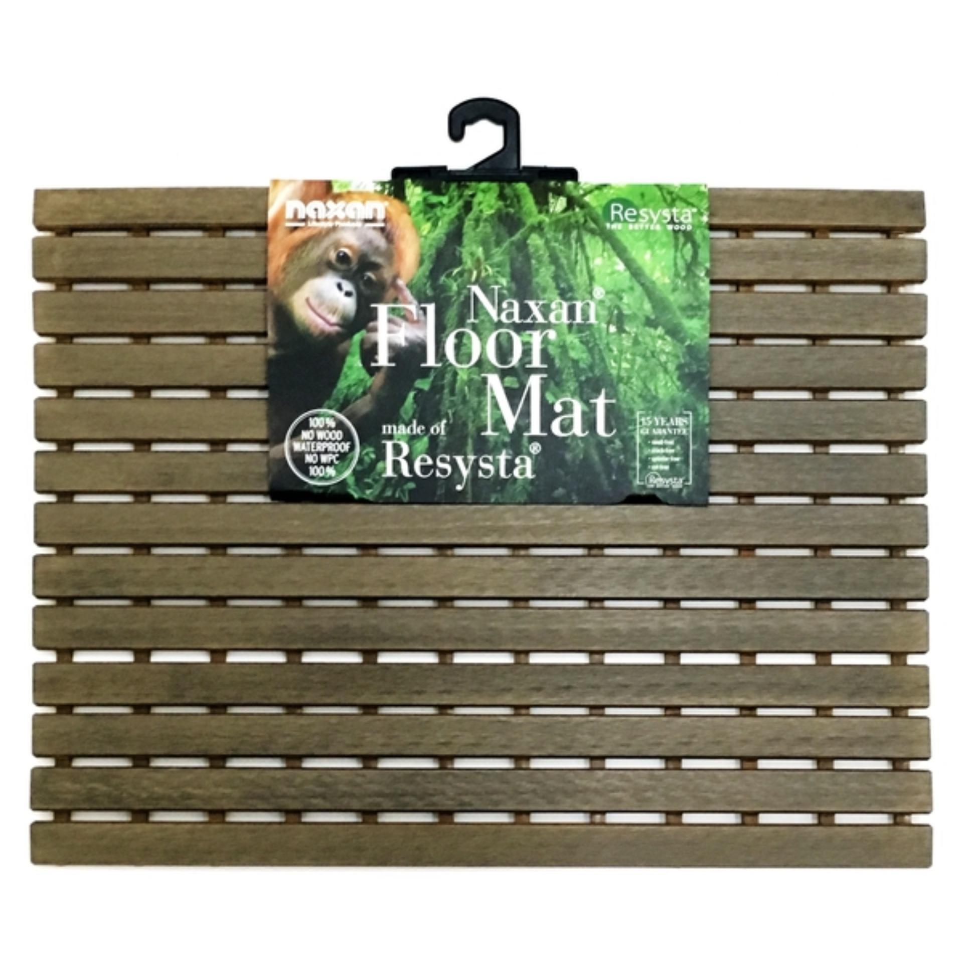 Best Deal Naxan Bath Mat Siam Teak 610X450Mm Smr45 Fvg C14