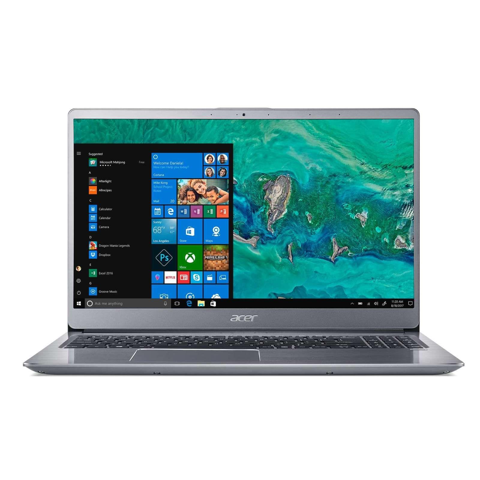 ACER SF315-52G-80LY 15.6 IN INTEL CORE I7-8550U 8GB 512GB SSD WIN 10 [SILVER]