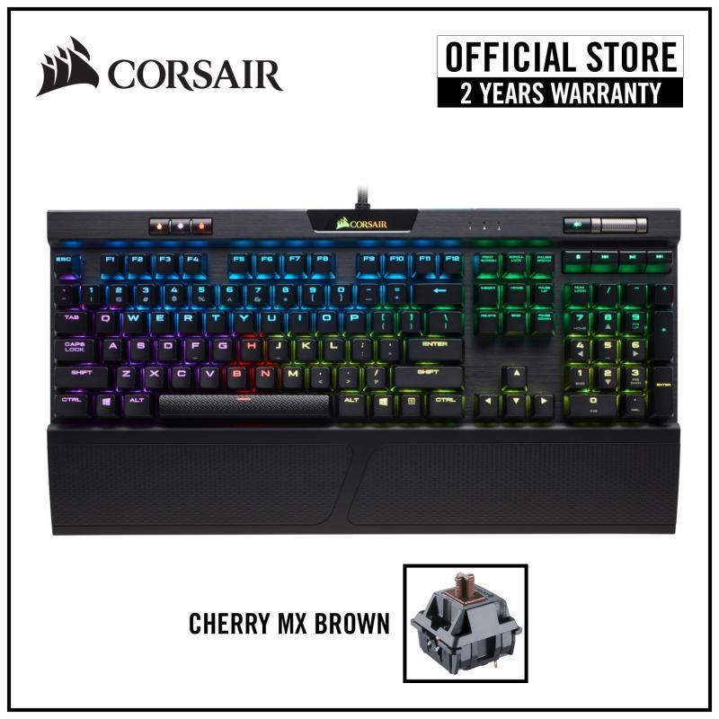 Corsair K70 RGB MK.2 Mechanical Gaming Keyboard - Cherry MX Brown RGB Singapore