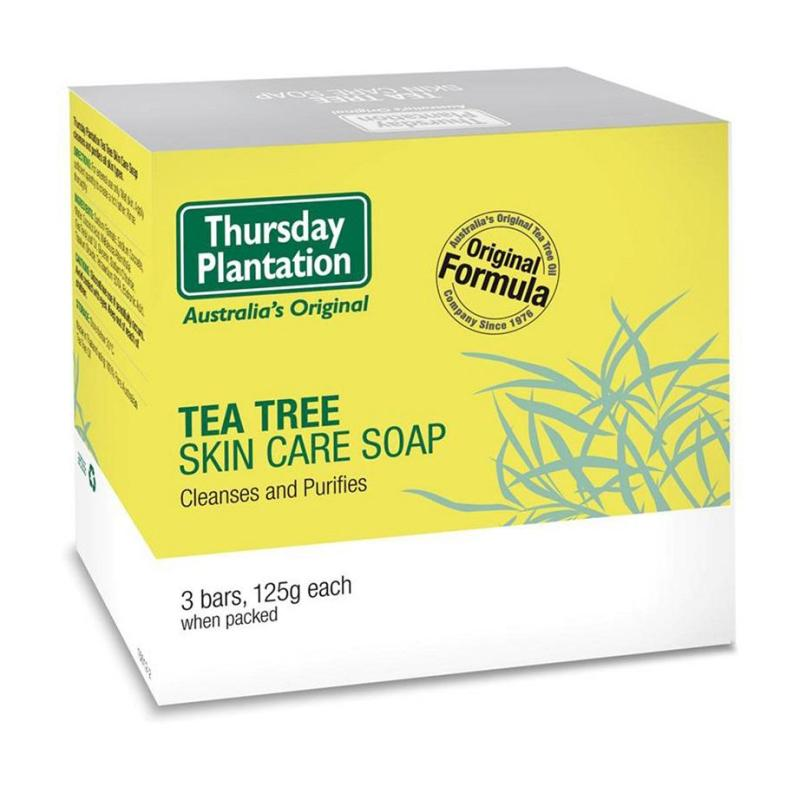 Buy Thursday Plantation Tea Tree Soap 3 x 125g December 2020 Singapore