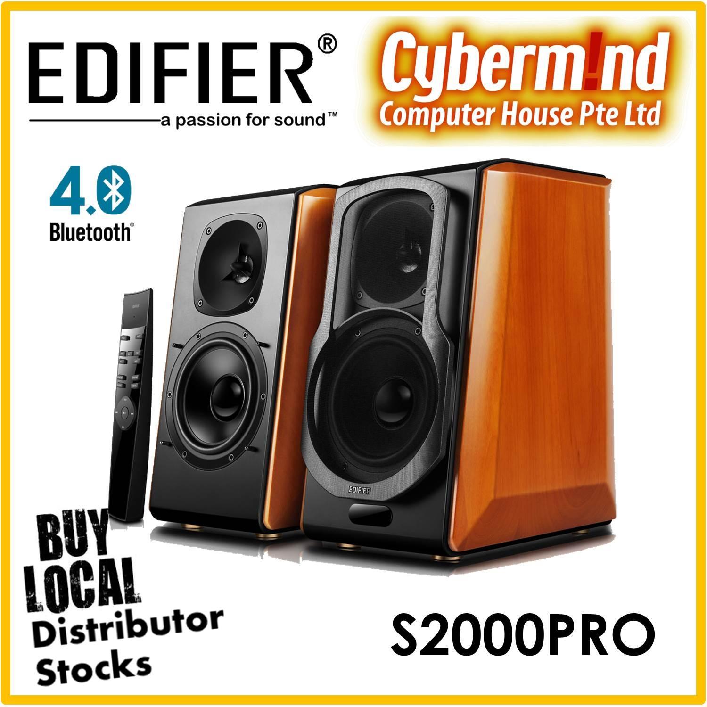 Edifier S2000Pro Active 2.0 Bluetooth Bookshelf Speaker
